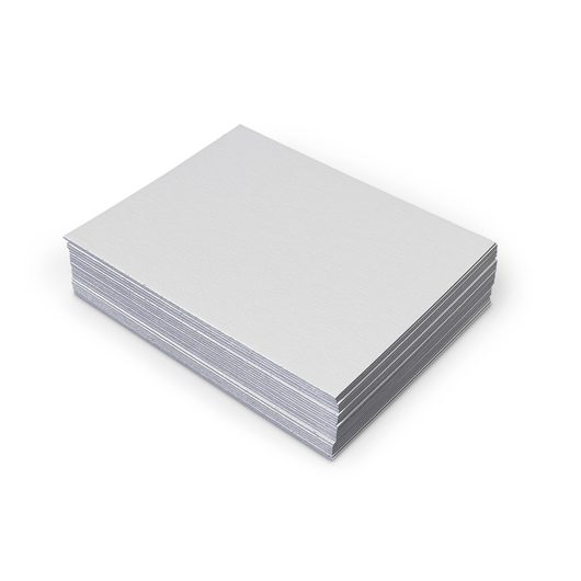 Fredrix® Cut Edge White Canvas Panels - 5 in. x 7 in. - 25 panels