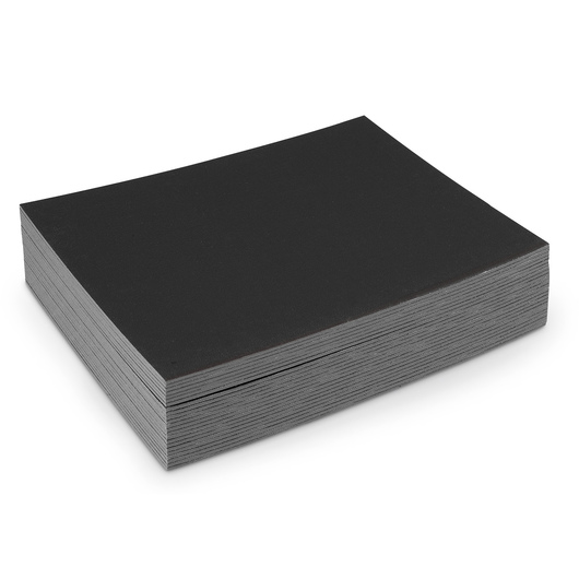 Fredrix® Cut Edge Black Canvas Panel - 11 in. x 14 in. - 25 panels
