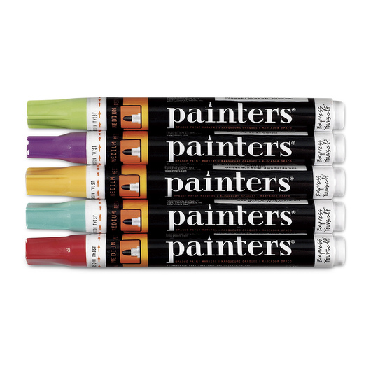 Elmer's® Painters® Medium-Tip Eastern Empire Paint Markers - Set of 5