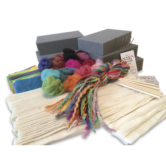 Needle Felting Demonstration Kit