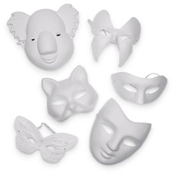 Pacon Paperboard Mask Assortment