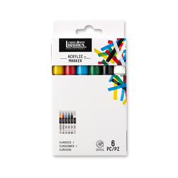 Liquitex Professional Paint Markers - Set of 6