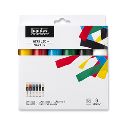 Liquitex® Professional Paint Markers™ Set of 6 - Wide