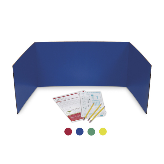 Flipside® Presentation Boards - 18 in. x 48 in. Pkg. of 24 - Assorted Colors