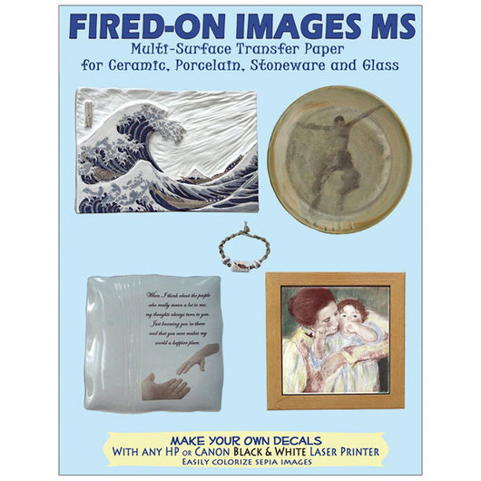 Fired-On Images Multi-Surface Transfer Paper - Pkg. of 10 - 8-1/2 in. x 11 in.