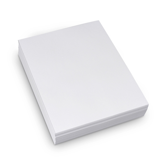 White Copy Paper - Pkg. of 500 - 8-1/2 in. x 11 in. - 20 lb.
