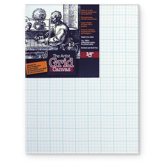 Masterpiece® Artist Grid Canvas - 9 in. x 12 in.
