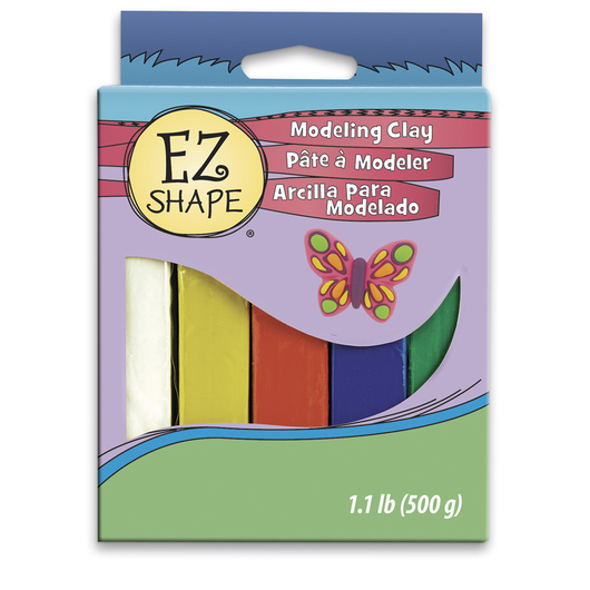 EZ Shape® Non-Drying Clay - Primary Set