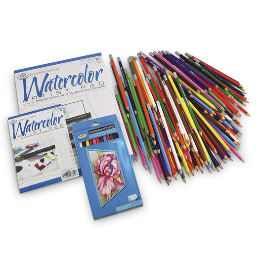 Royal Brush® Essentials™ Watercolor Pencils Classroom Pack of 144