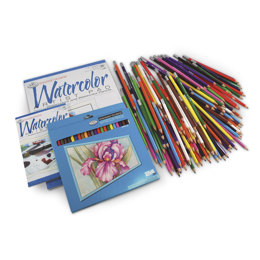 Royal Brush® Essentials™ Watercolor Pencils Classroom Pack of 288