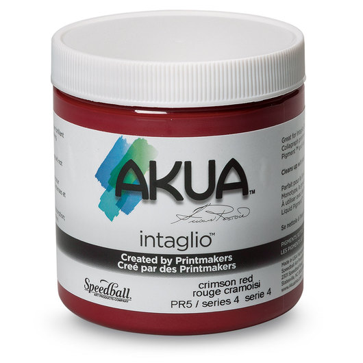 Speedball® Akua Intaglio™ Ink - 8 oz. - Crimson Red