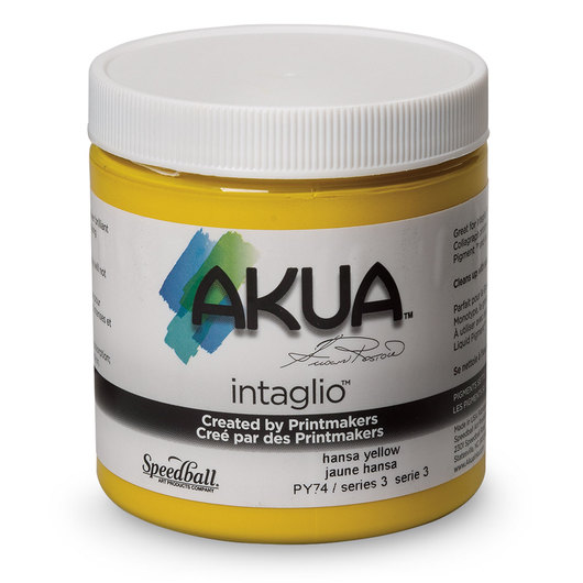 Speedball® Akua Intaglio™ Ink - 8 oz. - Hansa Yellow