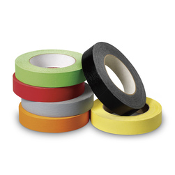 Colored Masking Tape, Assorted, Set of 6