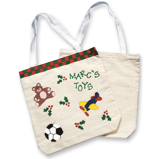 Large Canvas Tote Bags - Pkg. of 12