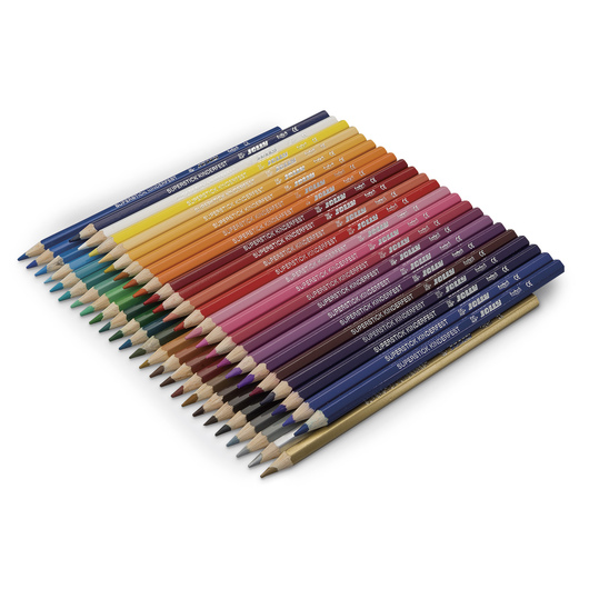 Jolly Colored Pencils - Set of 48 Supersticks