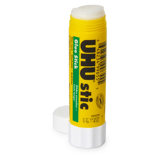 UHU® Clear Glu-Stics - Pkg. of 48 - 1.41 oz.