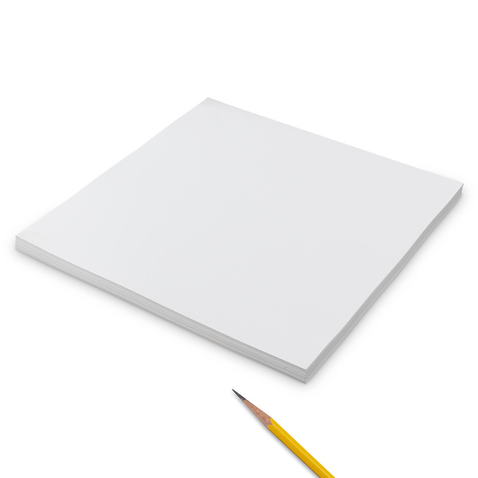 Blank Card Stock - Pkg. of 50, 12 in. x 12 in.