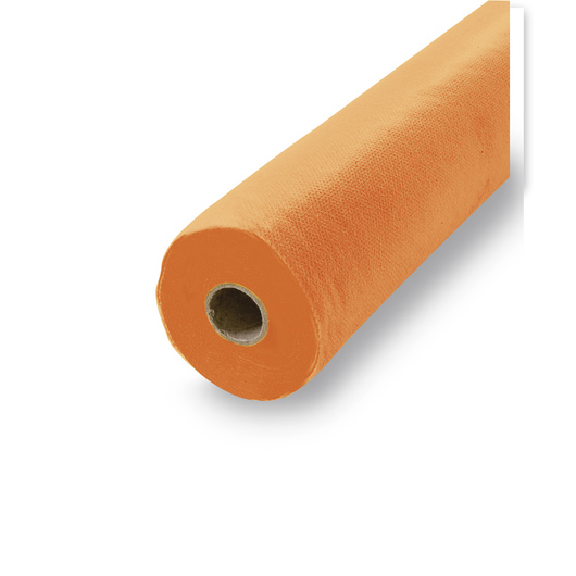 Smart-Fab® Disposable Art and Decoration Fabric - 24 in. x 18 ft. - Orange