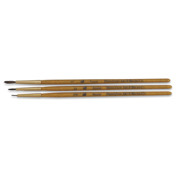 Set No. 5 - Princeton RealValue™ Sable Short Handle - 3 Brushes