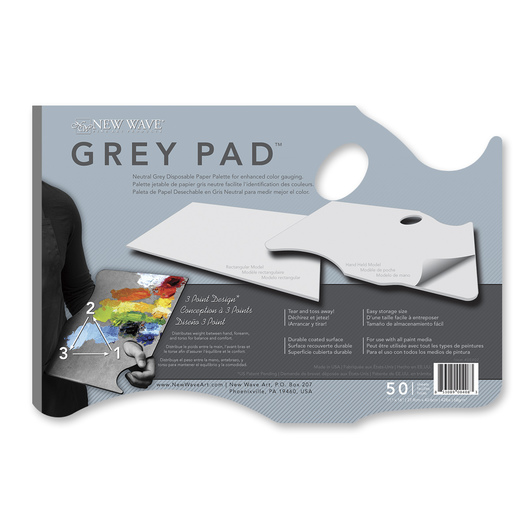 New Wave® Grey Pad™ Hand-Held Model - 11 in. x 16 in. - 50 Sheets