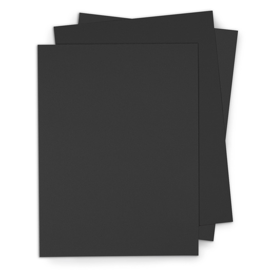 Crescent® Black Mat Board - Pkg. of 40 - 11 in. x 14 in.