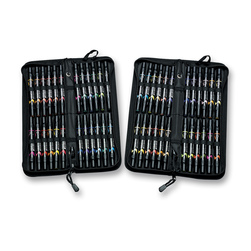 PRISMACOLOR® Premier® Double-Ended Brush/Fine Art Markers - Set of 48 with Case