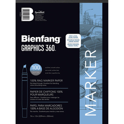 Bienfang® Graphics 360 Layout Paper Pad - 100 - 9 in. x 12 in. Sheets