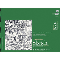 Strathmore® 400 Series Recycled Sketch Pad - 18 in. x 24 in. 30 Sheets - 60 lb.