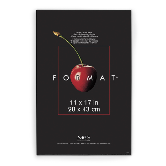 Black Format® Frame - 11 in. x 17 in.