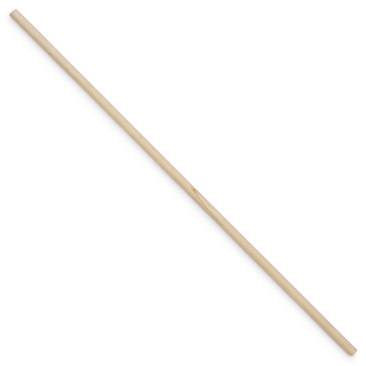 Smooth Wooden Dowel - 1/2 in. x 12 in. - Single