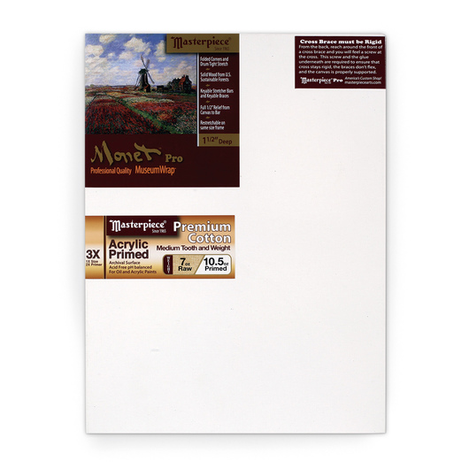 Masterpiece® Monet™ Monterey Pre-Stretched Canvas - 16 in. x 20 in.