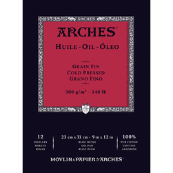 Arches Oil Pad 12 sheets