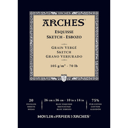 ARCHES® Drawing Pad - 10 in. x 14 in.
