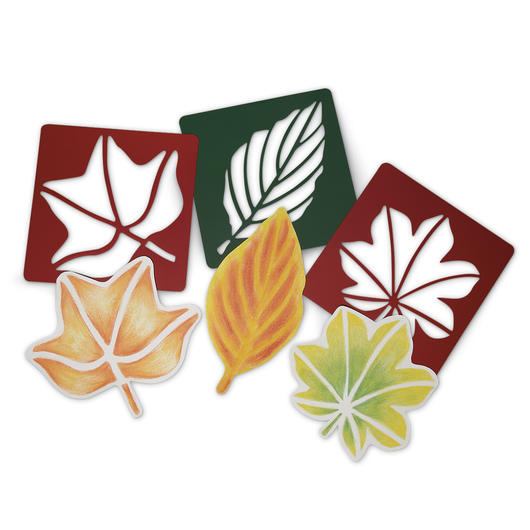 Roylco® Perfect Leaf Stencils® - Set of 12