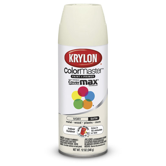 Krylon® Indoor/Outdoor Paint - 12 oz. - Satin Ivory