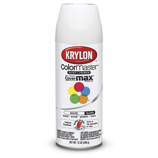 Krylon® Indoor/Outdoor Paint - 12 oz. - Gloss White