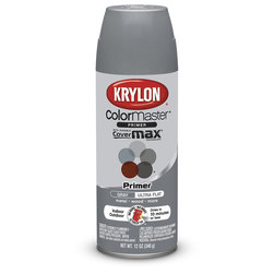 Krylon® Indoor/Outdoor Paint - 12 oz. - Gray Primer
