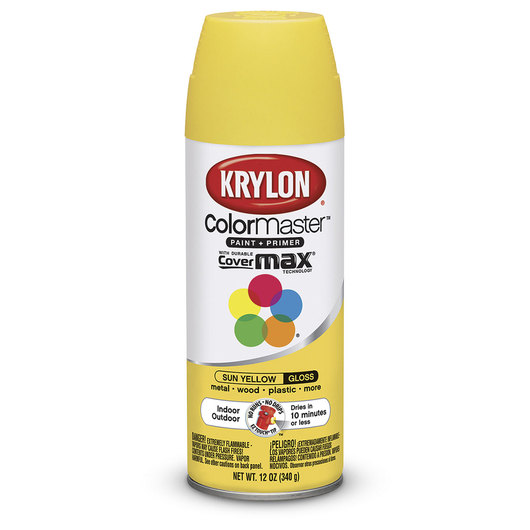 Krylon® Indoor/Outdoor Paint - 12 oz. - Sun Yellow