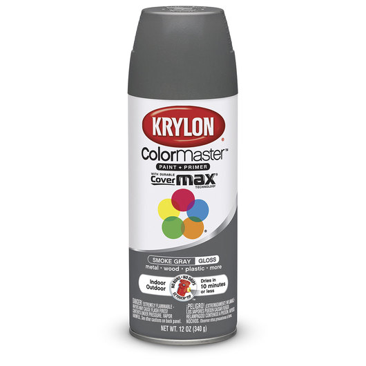 Krylon® Indoor/Outdoor Paint - 12 oz. - Smoke Gray