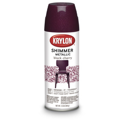 Krylon® Craft Series™ Shimmer Metallic - 11.5 oz. - Black Cherry
