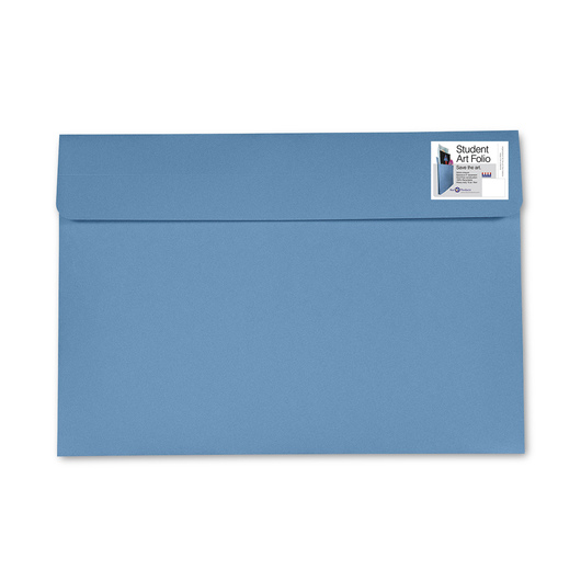 Student Art Folio - 9-1/2 in. x 11-3/4 in. - Sky Blue