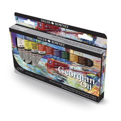 Georgian Oil Colors Introduction Set - 22 ml. - Set of 10