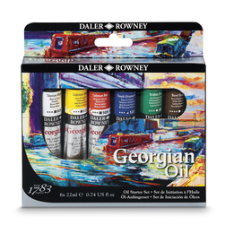 Georgian Oil Colors Starter Set - 22 ml. - Set of 6