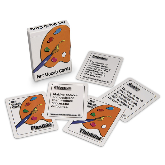 Art Vocabulary Cards - Box of 54