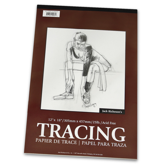 Jack Richeson® Tracing Pad - 12 in. x 18 in. - 25 lb.