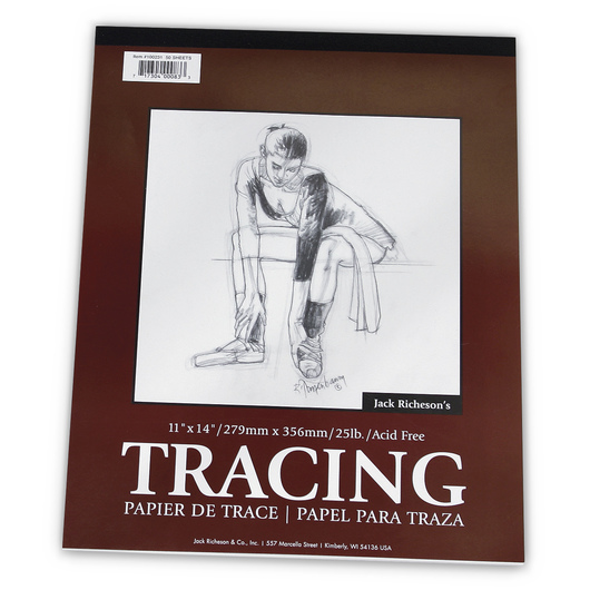 Jack Richeson® Tracing Pad - 11 in. x 14 in. - 25 lb.