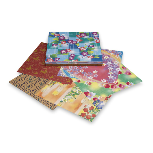 AITOH Craft Chiyogami Paper - 200 Sheets - 5-7/8 in. x 5-7/8 in. - 32 lb.
