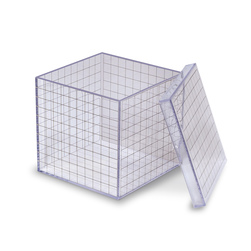 3-D Grid Box - 4-1/4 in. x 4-1/4 in.