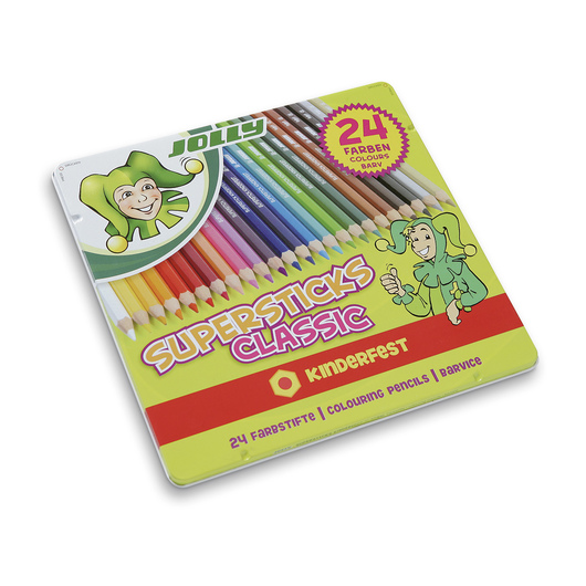 Jolly Supersticks - Set of 24 Classic Colors