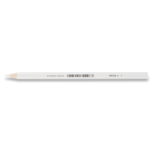 Jolly Superstick Colored Pencil - 3.8 mm Core - White